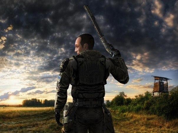 Картинка сталкера стрелка