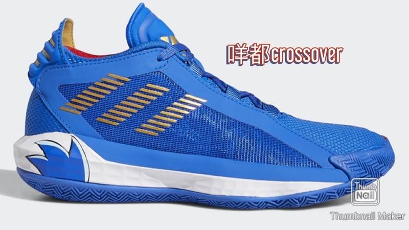 Adidas Dame 6同Sonic Dash Collab!都撞色得幾有趣