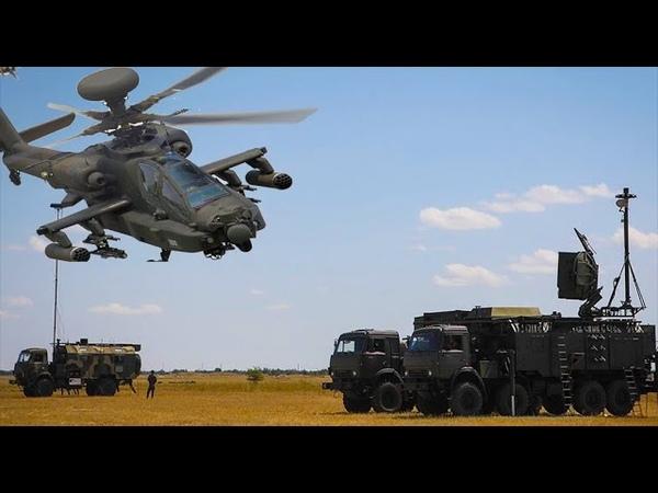 Напоролся на российскую «Красуху» американский вертолёт Apache чуть не потерпел крушение в Cирии
