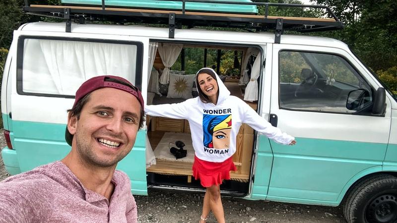 Finał Jak wygląda nasza T4 po Metamorfozie Zapraszamy do środka Van Tour DIY Campervan