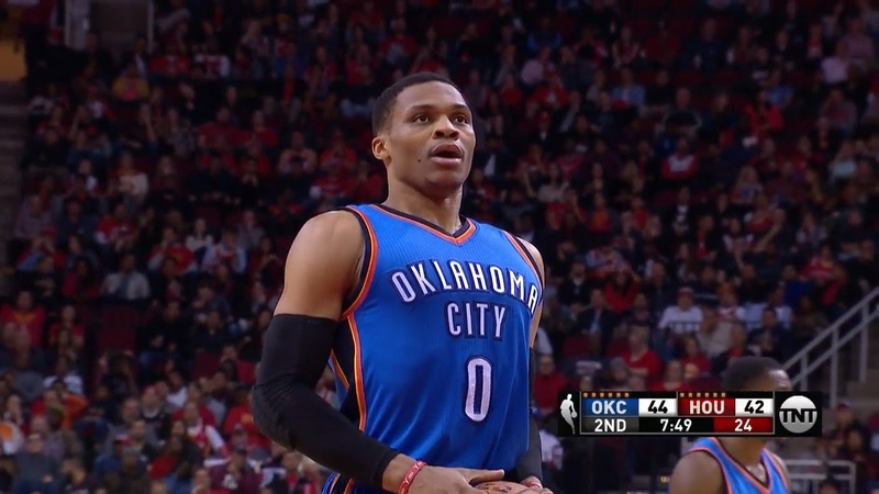 Russell Westbrook Full Highlights 2017.01.05 at Rockets 49 Pts 8 Rebs 5 Ast 8 Threes