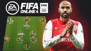 Fifa Online 4 Арсенал Венгера в деле