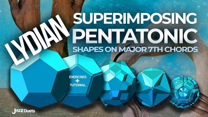 Pentatonic Lydian Superimposition on major 7 chords