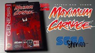 Обзор оригинального картриджа Spider-Man and Venom: Maximum Carnage (GENESIS) 1994г | Sega Stories