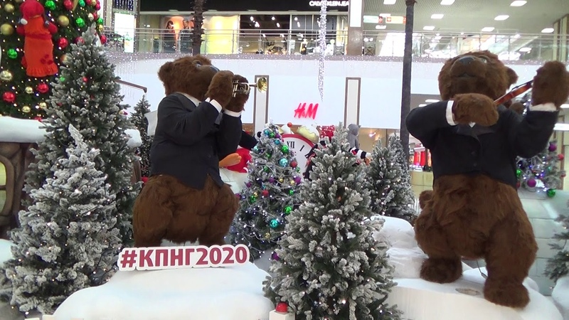 Музыкальные медведи в ТРЦ Красная площадь г Краснодара