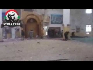 Syria Aleppo terrorist are responsible of destroying a Mosque - Of what tells Anna-News-