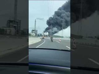 Леверкузен, Германия. Explosion Leverkusen Germany