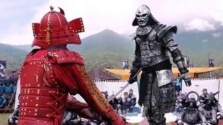 Смертельная дуэль Киану Ривза с самурайским големом | СЦЕНА СХВАТКИ | 47 ронинов | отрывок