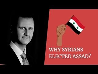Why millions of Syrians voted for Bashar al-Assad?