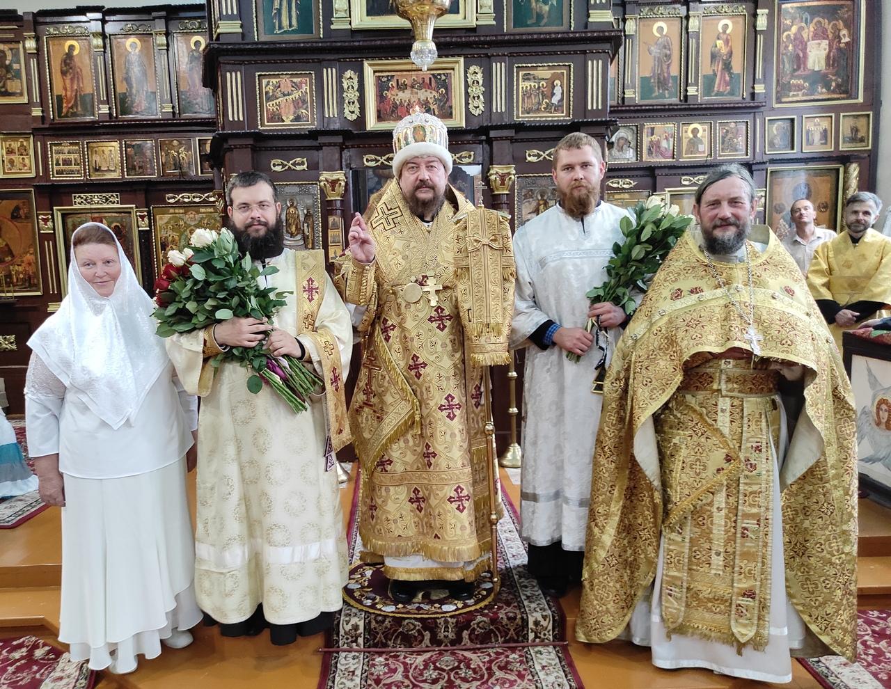 Диаконская хиротония в г.Киеве