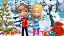 Зима - Время года Карточки Домана Развивающие Обучающие Мультики Детям