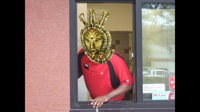 Dagoth Ur at McDonald's