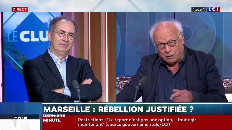 CoVid 19 Le Pr Laurent TOUBIANA l'invité de André Bercoff sur LCI Le Club Le Chatelier