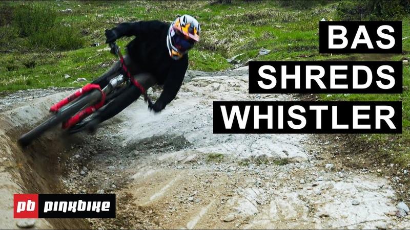 Gaps Manuals More Whistler Bike Park Shredding with Bas Van Steenbergen RAW