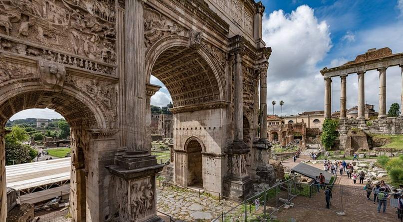 Арка Септимия Севера 205г. н.э. / Рим