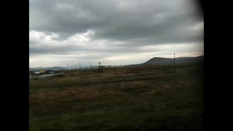 Алтай едем по Платовскому Мосту на стыке Края и Респбулики Алтай