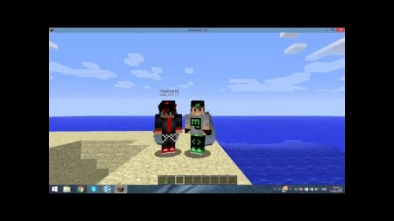 как играть в майнкрафт на пиратке по сети #8
