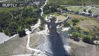 В Волгограде впервые реконструируют монумент «Родина-мать зовёт!»