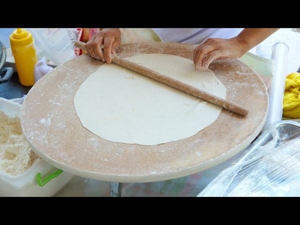 Тесто Юфка рецепт Yufka hamuru nasıl yapılır Yufka tarifi Evde yufka hamuru Рецепт теста