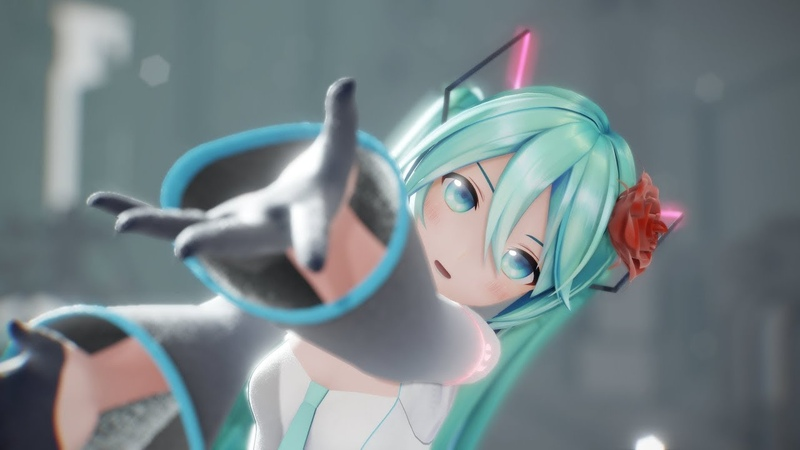 【MMD】Unknown Mother-Goose - YYB式初音ミク