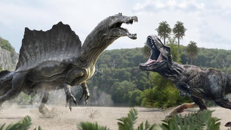 СРАЖЕНИЯ ДИНОЗАВРОВ Спинозавр против ВСЕХ