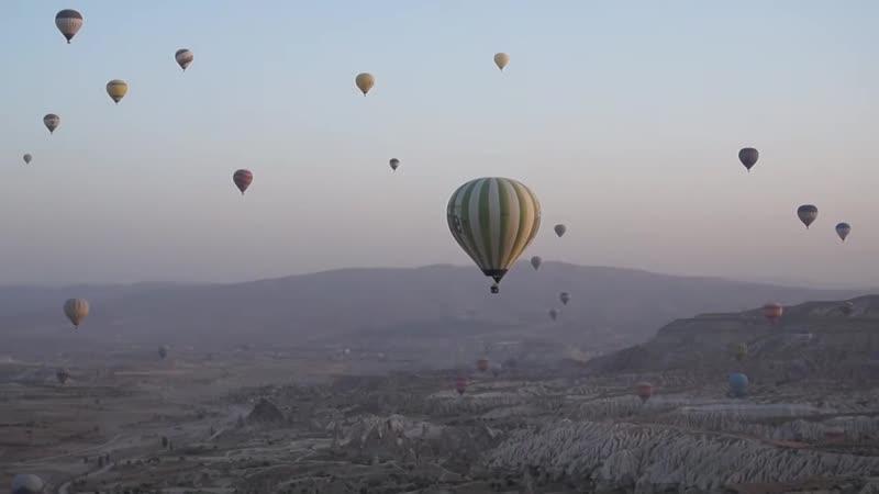 Полет на воздушном шаре в Каппадокии Турция
