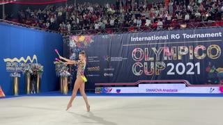 Anastasia Simakova Clubs AA  IT Olympico Moscow 2021