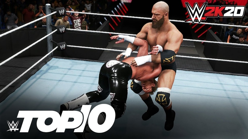 Calamitous Catch Finishers WWE 2K20 Top 10
