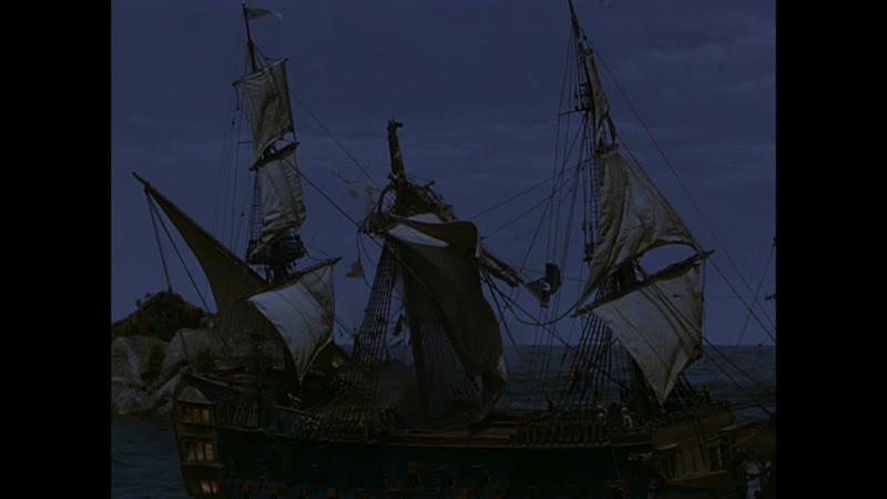 Уничтожение пиратского корабля англичанами Капитан пират