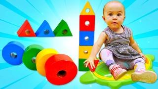 Nuevos juguetes para bebés. Serie de vídeos para bebés. Juguetes educativos para niños