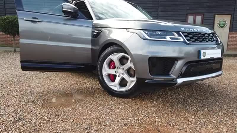 Range Rover Sport P400E HSE 2 0 SUV Petrol E Hybrid in Corris Grey 2018 Virtua