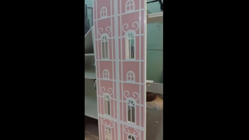 Коллекция ВЕРСАЛЬ Шкафы домики от Полки Кидс ру