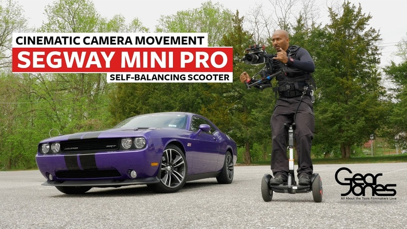 Cinematic Camera Movement Using the Segway miniPRO and a Gimbal Rig