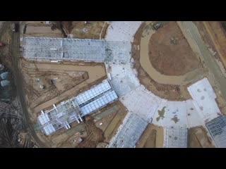 Строительство новой инфекционной больницы