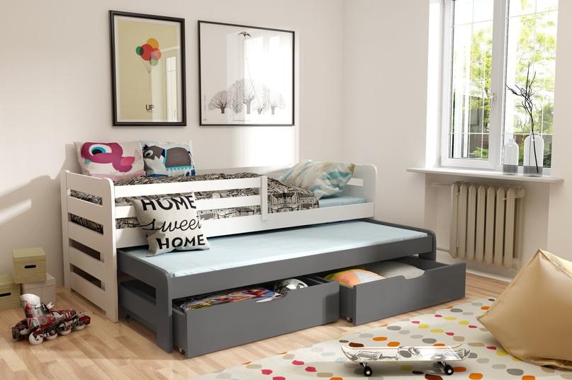 Плюсы и минусы двухъярусных выдвижных кроватей, популярные дизайны, изображение №28