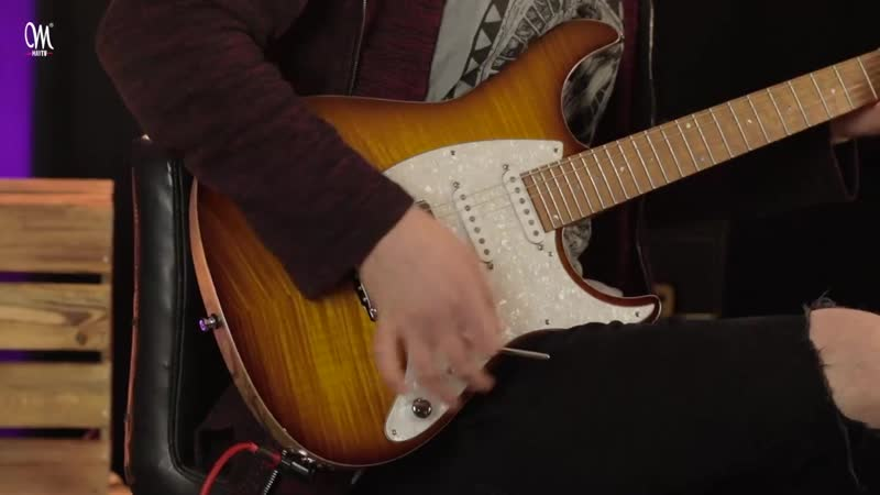 Jakub Zytecki играет на Mayones Aquila FM 6 2-Tone Sunburst Gloss
