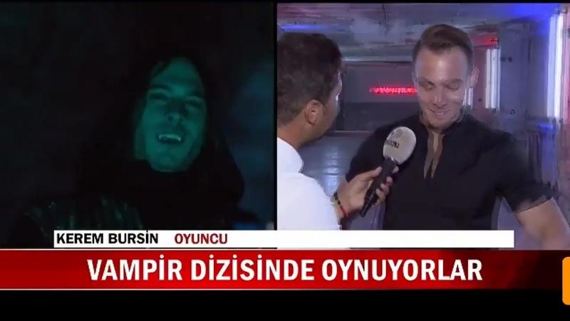 Kerem Bürsin, Elçin Sangu, Selma Ergeç ve Birkan Sokullu ile yapılan KanalD Ana Haber Röportajı - - KeremBürsin @KeremBursin