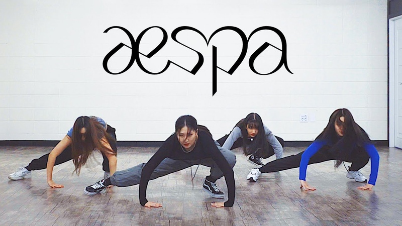 Aespa 에스파 - Black Mamba (블랙맘바)   커버댄스 DANCE COVER   안무 연습영상 거울모드 PRACTICE MIRROR MODE