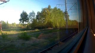 Владимир-Москва (Курский вокзал) из окна поезда№041Г Нижний Новгород-Великий Новгород
