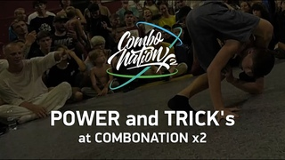 POWER and TRICK's contest at  COMBONATION x2 #bmvideo