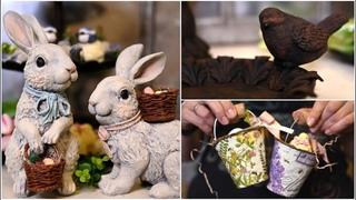 Переделки Фикс Прайс к Пасхе! / Бюджетный весенний декор своими руками