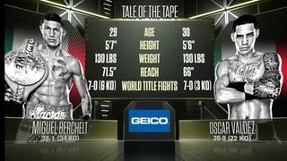 Miguel Berchelt vs Oscar Valdez Boxing Highlights