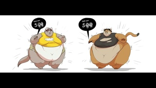 Fat furs and anime girls weight gain #6