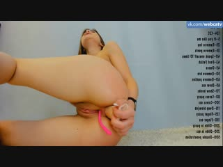 Hypnotize_d - show 20.02.19 [anal, solo, masturbation, toys, girl, tits, ass, fingering]