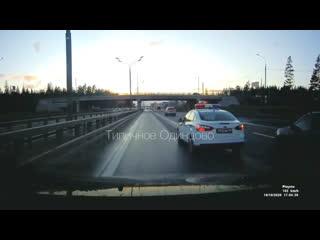 ВАИ на Минском шоссе чуть не спровоцировал аварию