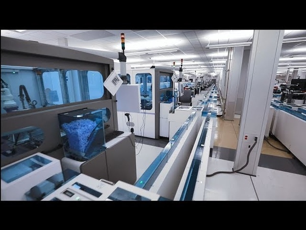 Northwell's Brand New Automated Clinical Laboratory