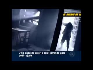 Homem é derretido por bolas de fogo no interior de São Paulo