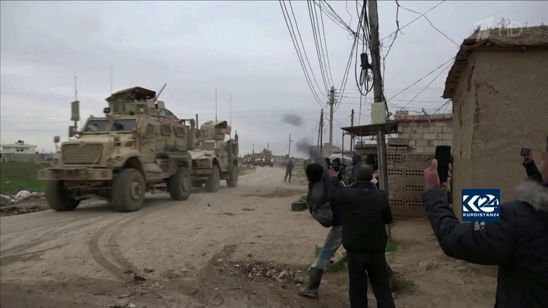 Российские военные отбили американских рейнджеров у разъяренных сирийцев