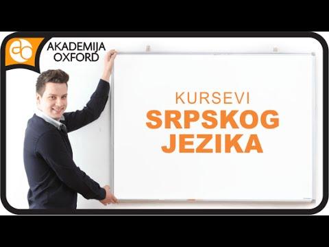 Kurs Srpskog Jezika Skola Srpskog Jezika Akademija Oxford