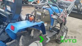 """Обзорное видео японского трактора с куном и фрезой для сельскохозяйственных работ """"PROGRESS-AVTO"""""""